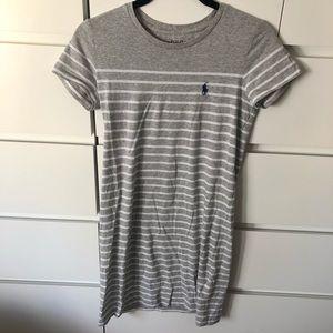 Polo Ralph Lauren grey stripe dress size Xs
